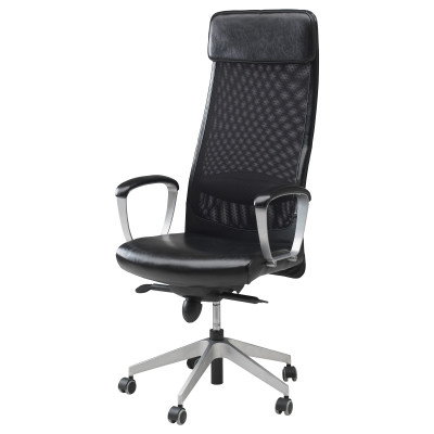 black ikea office chairs