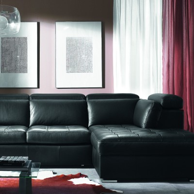 Choose Black Leather Furniture For A Charming Look