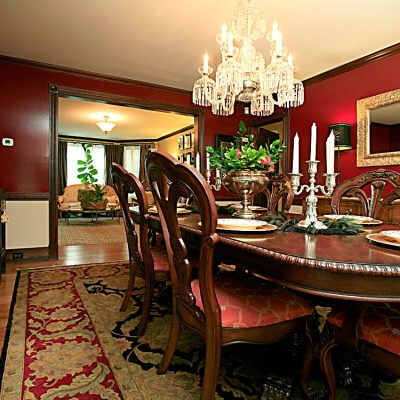 clasic traditional dining room design