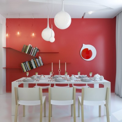 cool dining room color schemes