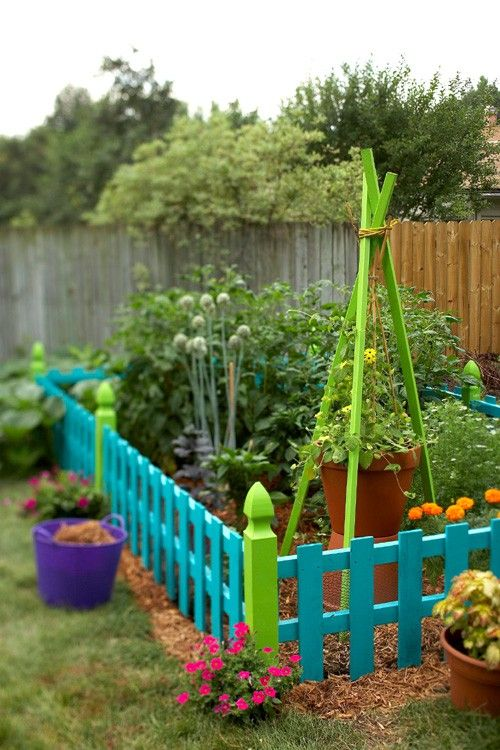 creative  garden ideas for kids