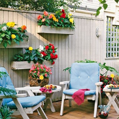 garden wall decor extention