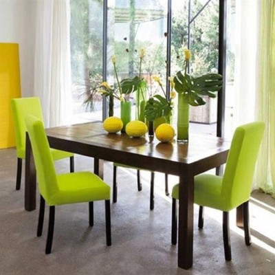 green dining room design ideas