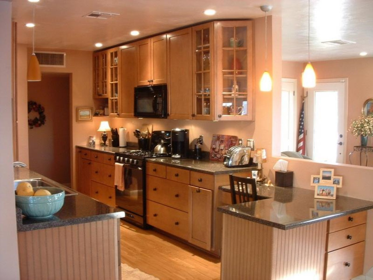 The guide how to design galley kitchen layouts actual home for Photos of remodeled kitchens