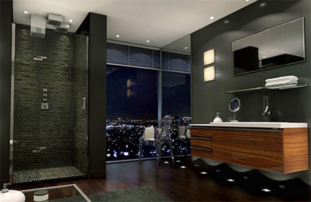 Why you should choose the modern master bathroom actual home for Master bathroom modern