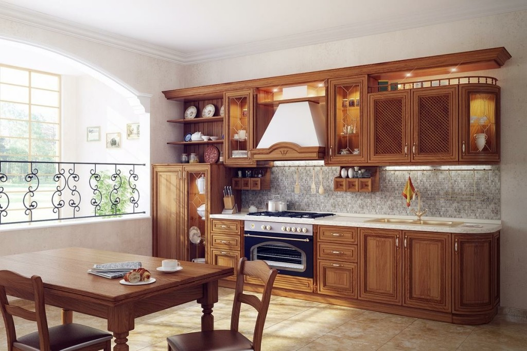 small traditional kitchen design