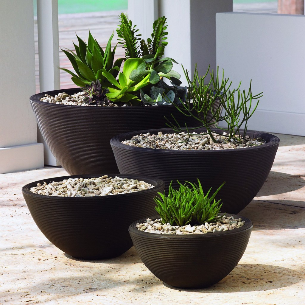 unique modern garden pots