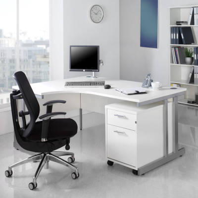 white office furniture set