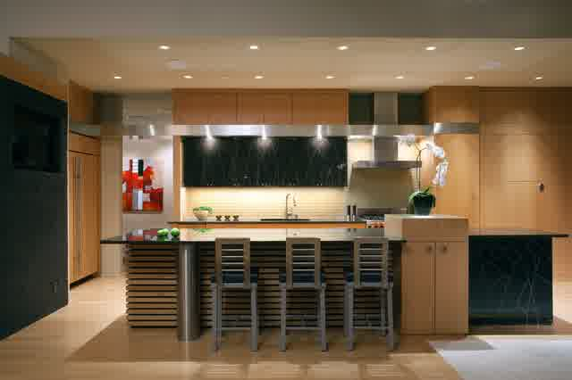 asian inspired kitchen design