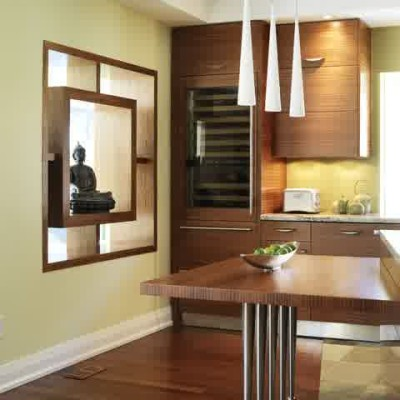 asian fusion kitchen design
