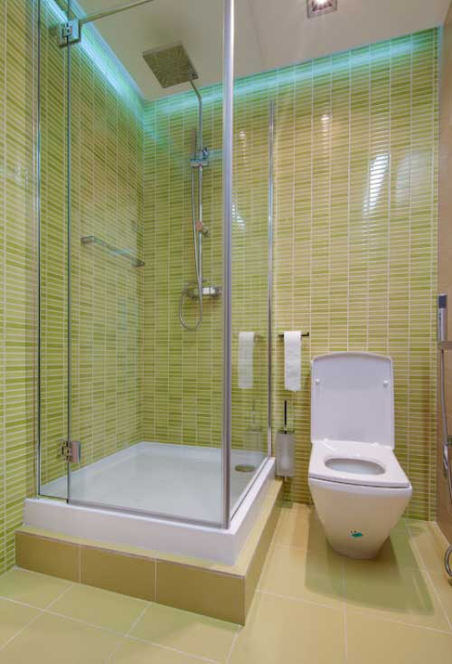 Choosing simple bathroom design for you actual home for Simple shower designs