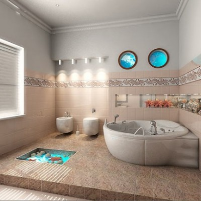 simple bathroom design without bathtub