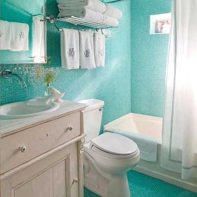 simple bathroom decorating designs