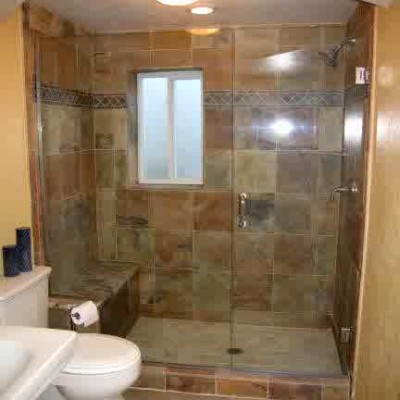 cheap master bathroom shower