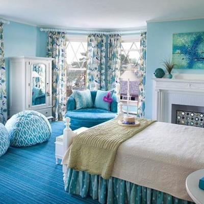Why should you choose a blue bedroom paint ideas actual home - Blue bedroom paint ideas ...