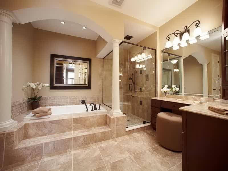 The reason for choosing traditional bathroom design for Traditional bathroom designs