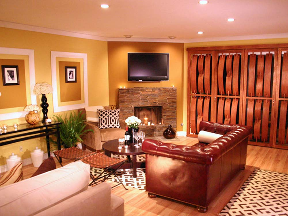Modern luxury interiors tricks with limited budget - Photos of living room paint colors ...