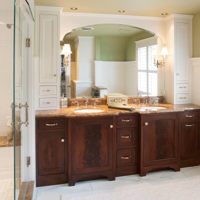 decorating-ideas-furniture-interior-amazing-mahogany-master-bath-cabinet-with-brown-granite-countertops-oval-panel-sink-and-white-bathroom-storage-and-shelving-stunning-masterbath-cabinets-decoratio