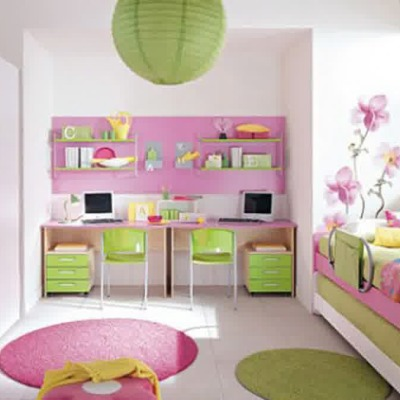 girly bedroom themes