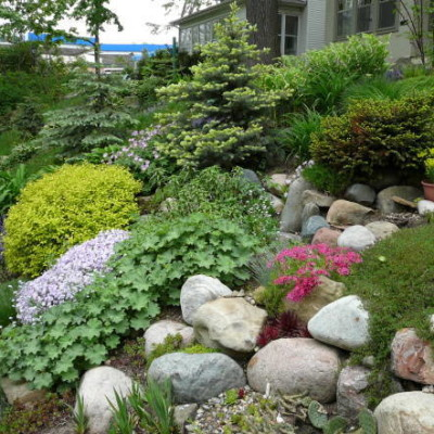 Hillside Landscaping Design For The Unexpected Beauty ... on Small Sloped Backyard Ideas On A Budget id=38327
