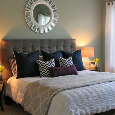 simple bedroom decorating makeovers