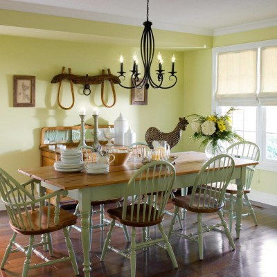 Country Style Dining Rooms