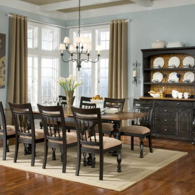 Country Dining Decor