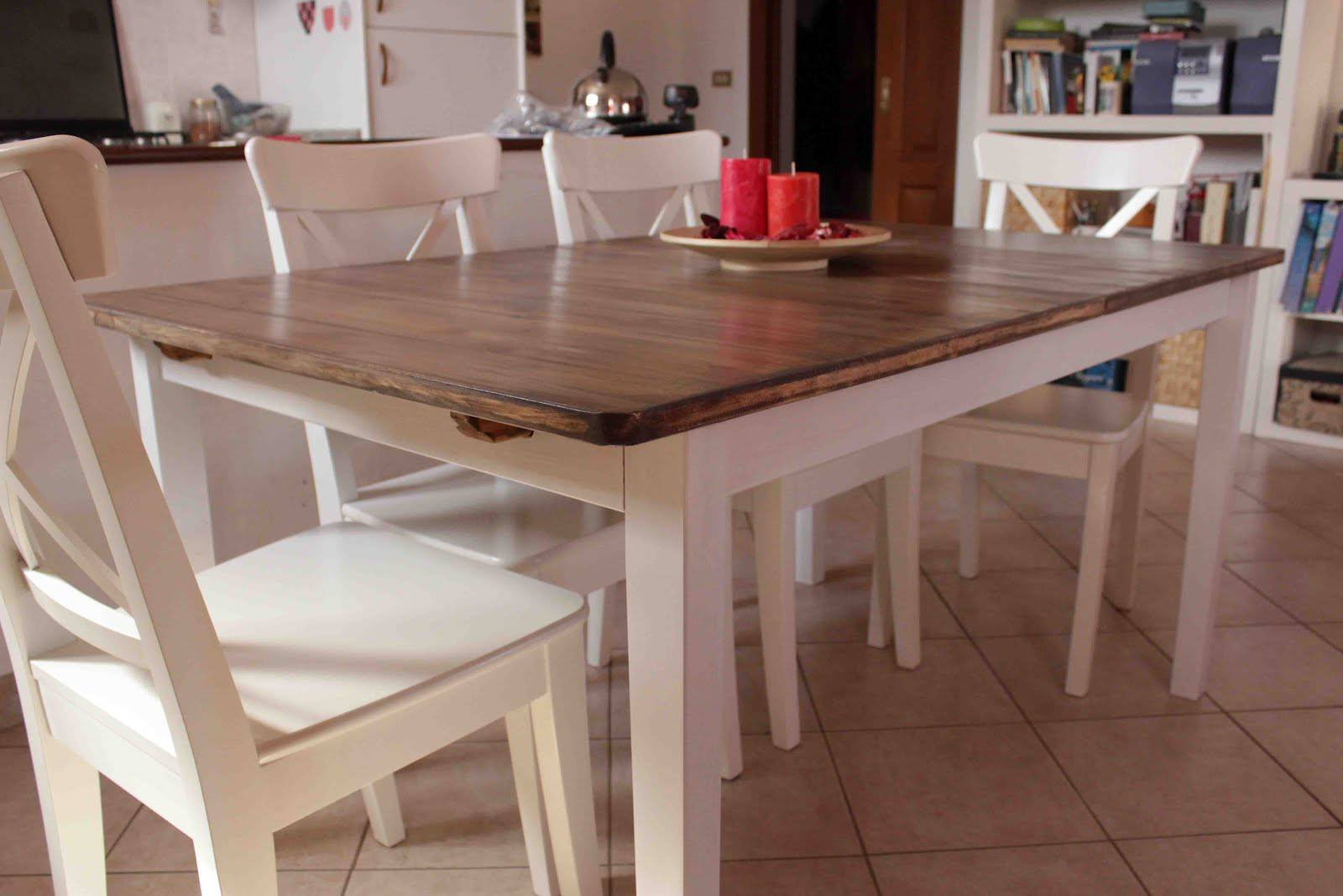 Country Style Dining Room Table