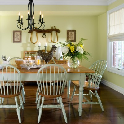 nice country dining room design