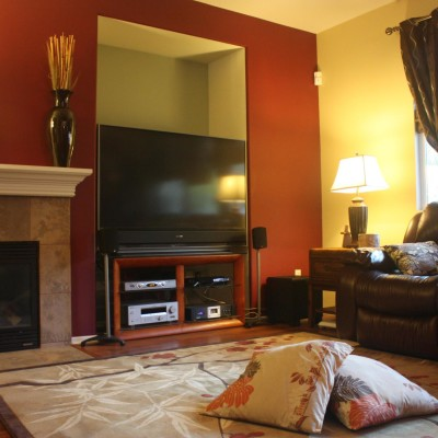 Family Room Decorating Ideas with Fireplace, For Comfort And Style