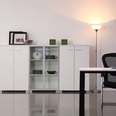White Office Furniture For Timeless Style
